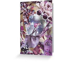Fashion Collage #5 Greeting Card