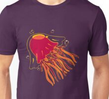 Purple Jellyfish Unisex T-Shirt