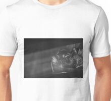 Black and white Flower Projected Unisex T-Shirt