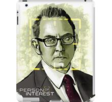 Mr. Finch (Person of Interest) iPad Case/Skin