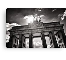 Brandenburg Gate (Brandenburger Tor) - Berlin Germany Canvas Print