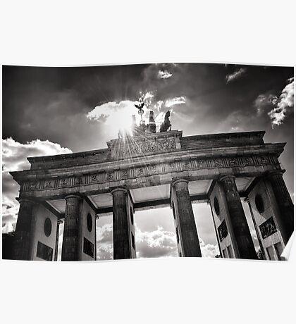 Brandenburg Gate (Brandenburger Tor) - Berlin Germany Poster