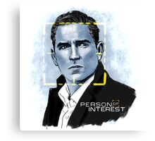 Mr. Reese (Person of Interest) Canvas Print