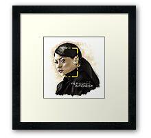 Joss Carter (Person of Interest) Framed Print