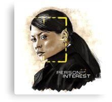 Joss Carter (Person of Interest) Canvas Print