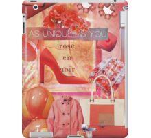 Fashion Collage #8 iPad Case/Skin