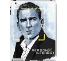 Mr. Reese (Person of Interest) iPad Case/Skin