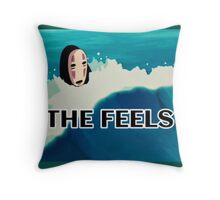 The Feels Throw Pillow