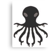 Inky The Octopus Canvas Print