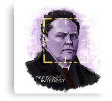 The Fusco (Person of Interest) Canvas Print