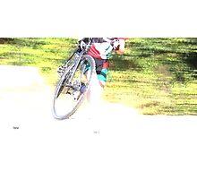 Running Bike  Photographic Print