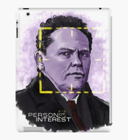 The Fusco (Person of Interest) iPad Case/Skin