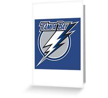 "Tampa Bay Lightning ""professional ice hockey team"" Greeting Card"