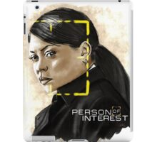 Joss Carter (Person of Interest) iPad Case/Skin