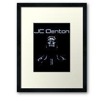 JC Denton - Deus Ex Framed Print