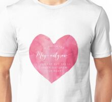 A Daughter May Outgrow Your Heart Unisex T-Shirt