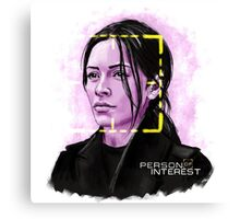 Sameen Shaw (Person of Interest) Canvas Print