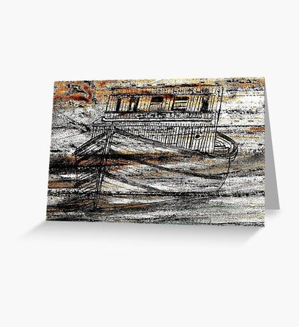 Ghost Ship! Greeting Card