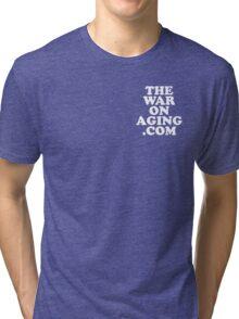 The War On Aging - Subtle - White Tri-blend T-Shirt