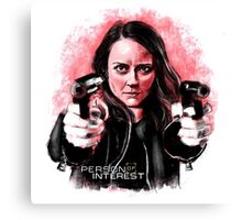 Root (Person of Interest) Canvas Print