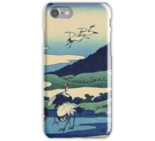 Hokusai Katsushika - Umezawa in Sagami Province iPhone Case/Skin