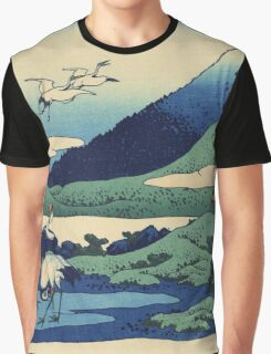 Hokusai Katsushika - Umezawa in Sagami Province Graphic T-Shirt