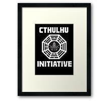 Cthulhu Initiative Framed Print