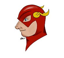 The Flash  by CarinaDrawings