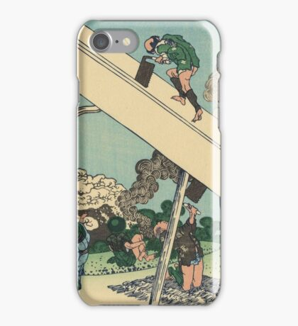Hokusai Katsushika - Mount Fuji from the mountains of Totomi iPhone Case/Skin