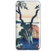 Hokusai Katsushika - Lake Suwa in Shinano Province iPhone Case/Skin