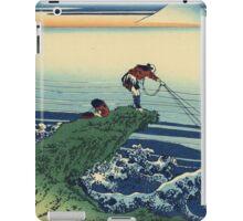 Hokusai Katsushika - Kajikazawa in Kai Province iPad Case/Skin