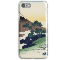 Hokusai Katsushika - Inume Pass iPhone Case/Skin