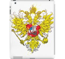 Stylized coat of arms of Russia iPad Case/Skin