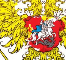 Stylized coat of arms of Russia Sticker