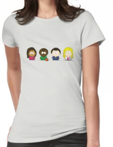 Scrubs Fanart SP-Tee Womens Fitted T-Shirt