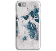 world map 13 iPhone Case/Skin