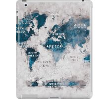world map 13 iPad Case/Skin