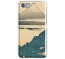 Hokusai Katsushika - Cushion Pine at Aoyama iPhone Case/Skin