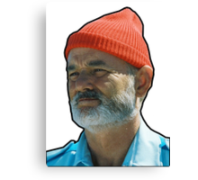 Bill Murray as Steve Sizzou  Canvas Print