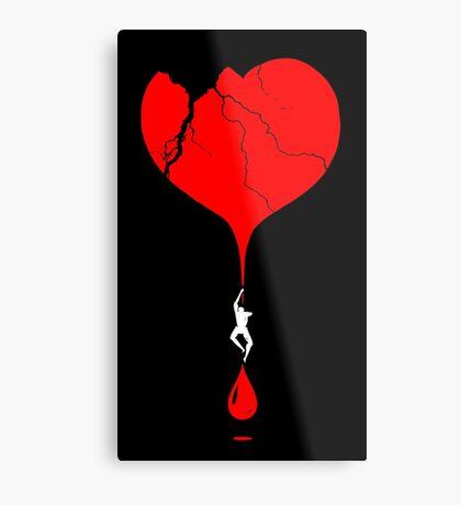 heart climber Metal Print