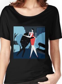Dance at night Women's Relaxed Fit T-Shirt