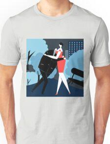 Dance at night Unisex T-Shirt
