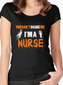Nurse - You Can't Care Me I'm A Nurse T-shirts Women's Fitted Scoop T-Shirt
