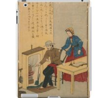 Anonymous - James Watt - Woodcut - Circa 1875 - Woodcut iPad Case/Skin