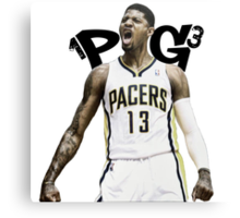 "Paul George ""PG-13"" Canvas Print"