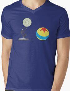 Desk Lamp and Ball  Mens V-Neck T-Shirt
