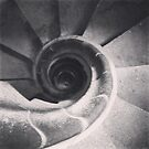 Sagrada Familia Stairwell by Louise Fahy
