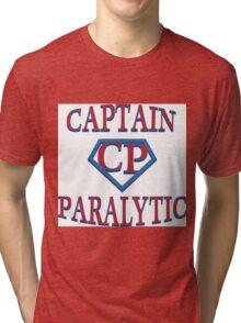 Captain Paralytic Tri-blend T-Shirt