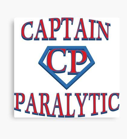 Captain Paralytic Canvas Print