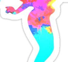 Mermaid Inspired Silhouette Sticker